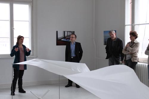 Karen Thiele - Das aufrichtende Moment - Künstlerhaus im Schlossgarten in Cuxhaven
