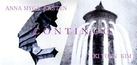 Anna Myga Kasten und Ki Youn Kim - CONTINGO - Ausstellung vom 23.08.-30.08.2015 - Künstlerhaus im Schlossgarten in Cuxhaven