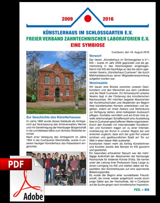 Künstlerhaus im Schlossgarten - Freier Verband Zahntechnischer Laboratorien - Eine Sybiose