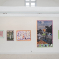 Nana Bastrup & Matvey Slavin - Ausstellung in Huset I Asnæs 2016