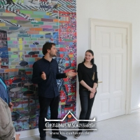 2016_Nana-Bastrup_Matvey-Slavin_Multimediale-Collagen_Kuenstlerhaus-im-Schlossgarten-in-Cuxhaven_03