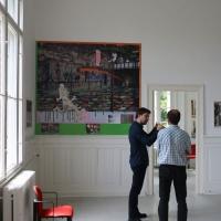 2016_Nana-Bastrup_Matvey-Slavin_Multimediale-Collagen_Kuenstlerhaus-im-Schlossgarten-in-Cuxhaven_28