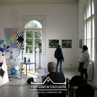 2019_IRIS-A-MAZ_Ausstellung_Himmelblau_Kuenstlerhaus-im-Schlossgarten_Cuxhaven_02