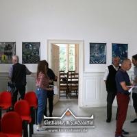 2019_IRIS-A-MAZ_Ausstellung_Himmelblau_Kuenstlerhaus-im-Schlossgarten_Cuxhaven_04
