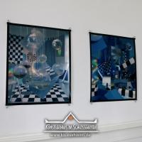 2019_IRIS-A-MAZ_Ausstellung_Himmelblau_Kuenstlerhaus-im-Schlossgarten_Cuxhaven_07