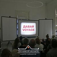 2021_Ausstellung_Davaj-Voyage_Johan-Robin_Anja-Tchepets_Kuenstlerhaus-im-Schlossgarten_Cuxhaven_12