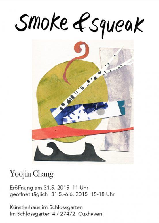 smoke+squeak - Yoojin Chang - Ausstellung im Künstlerhaus im Schlossgarten in Cuxhaven