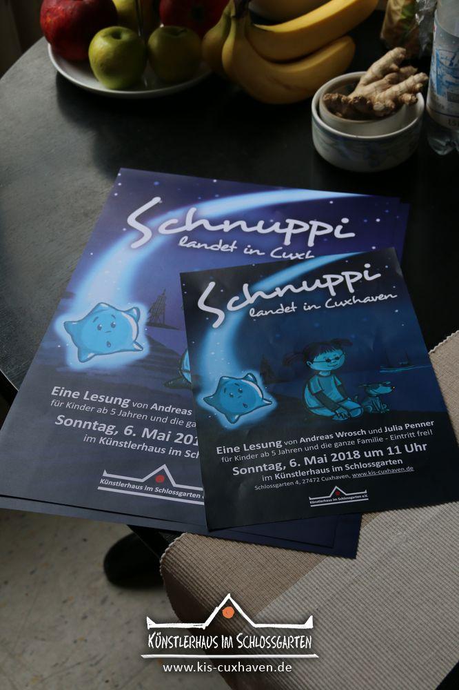 Schnuppi landet in Cuxhaven - Eine szenische Lesung von Anfreas Wrosch und Julia Penner im Künstlerhaus im Schlossgarten in Cuxhaven