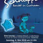 Autorenlesung, Szenische Lesung mit Andreas Wrosch und Julia Penner im Künstlerhaus im Schlossgarten in Cuxhaven