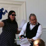 """Autorenlesung """"Schnuppi landet in Cuxhaven"""" von Andreas Wrosch und Julia Penner im Künstlerhaus im Schlossgarten in Cuxhaven"""
