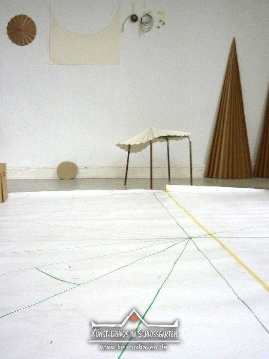 Lena Buhrmann ist Stipendiatin im Künstlerhaus im Schlossgarten in Cuxhaven