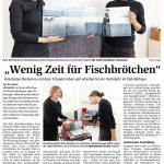 Zeitungsartikel über die Gastkünstlerinnen Anastasiya Nesterova und Anja Tchepets im Künstlerhaus im Schlossgarten.